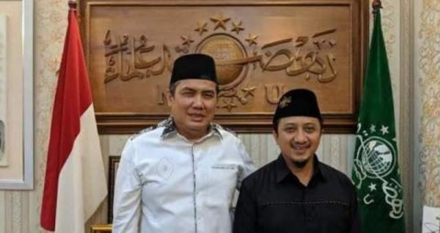 Usai Sowan ke PBNU, Ust Yusuf Mansur : Jangan Tanya ke-NUan Saya, yang Bawa NU ke Jakarta Kakek Saya