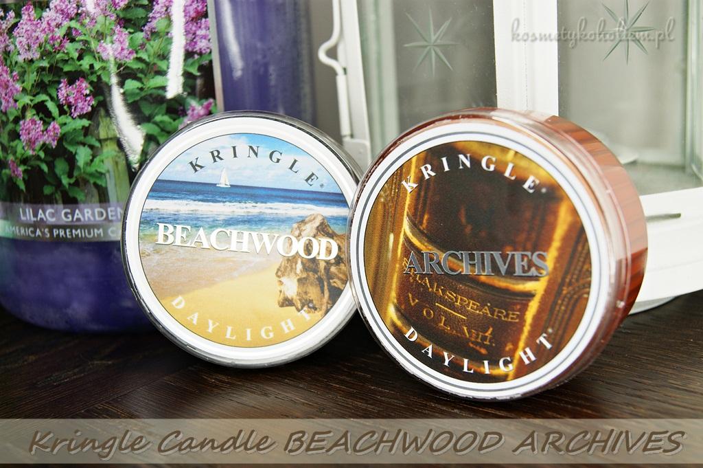 Kringle Candle BEACHWOOD, ARCHIVES | PachnacaWanna.pl i zniżka AVANTI | Świecowa Niedziela