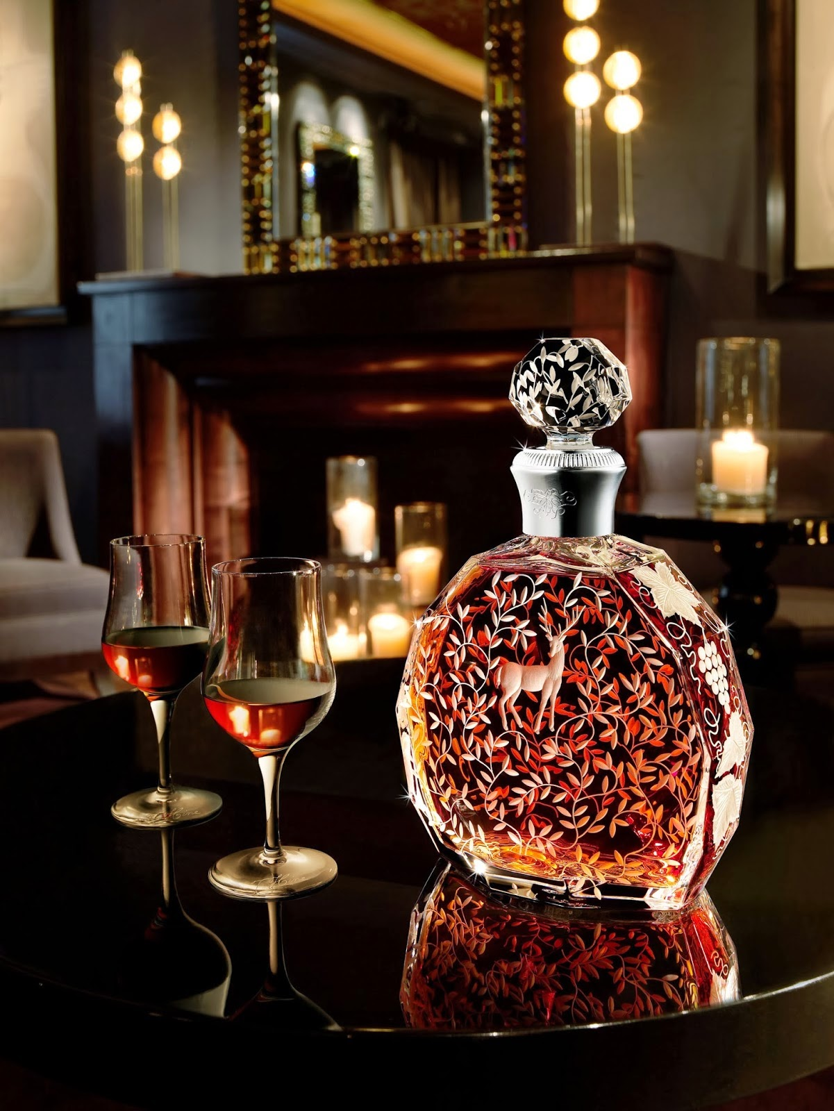 Behind the french menu deciphering cognac labels and how for Most beautiful wine bottles