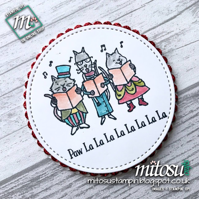 Santa Paws by Stampin' Up! order from Mitosu Crafts UK Online Shop