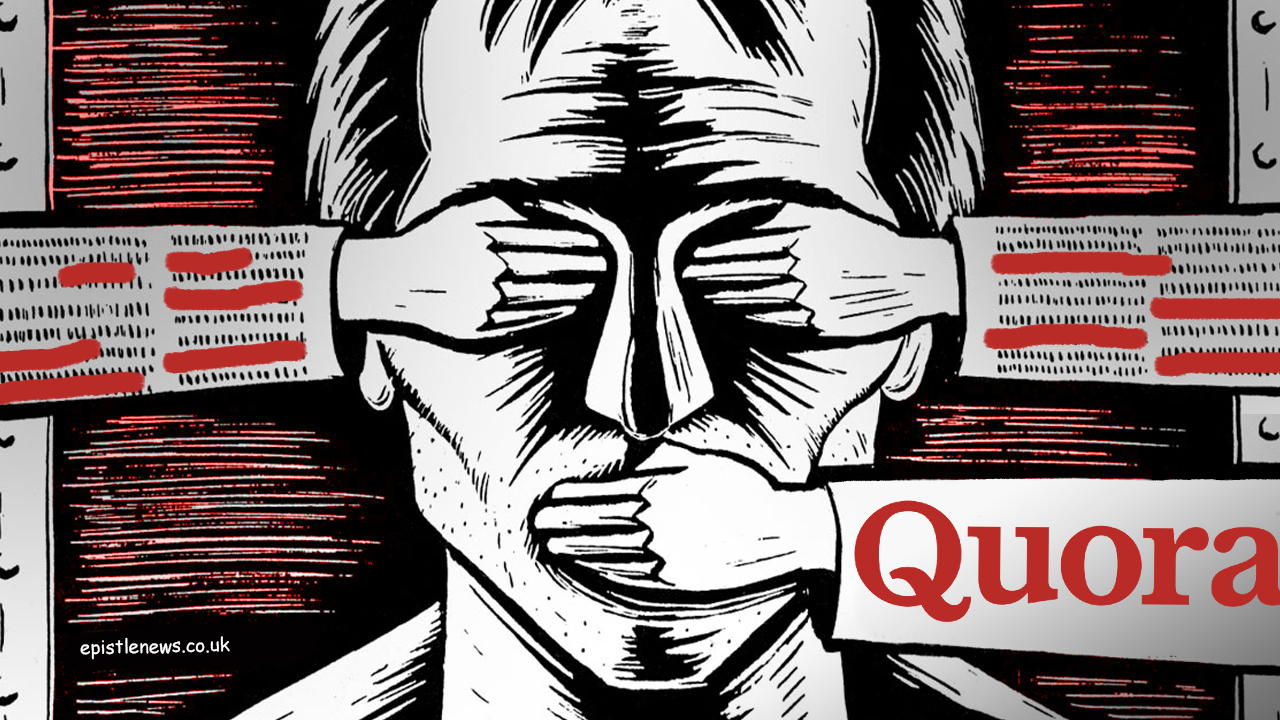 Quora users protest against platform's bias against the right-wing