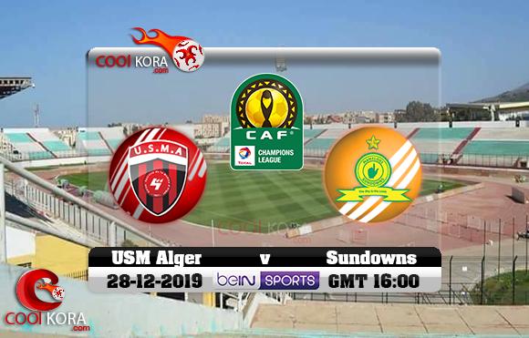مشاهدة مباراة إتحاد الجزائر وصن داونز اليوم 28-12-2019 دوري أبطال أفريقيا