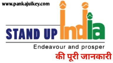 Stand up india scheme in hindi  की पूरी जानकारी विस्तार में