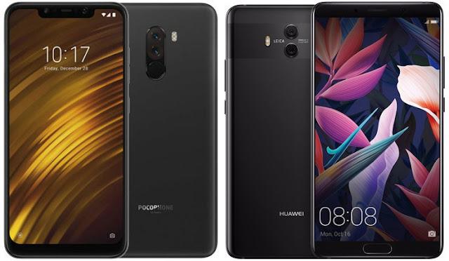 Xiaomi Pocophone F1 vs Huawei Mate 10