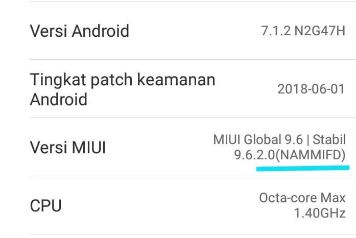 Cara Cek ROM Xiaomi Global Atau China