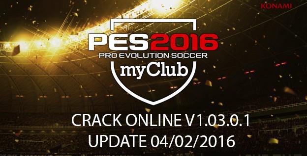 PES 2016 Crack Online 1.03.01 Update 04/02/16