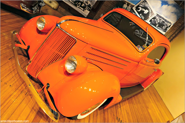 """Lookin' East: Art and Imagination of the New England Hod Rod"": 1936 Ford 3-Window Coupe"