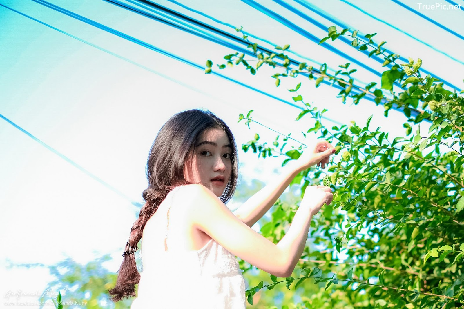 Image Thailand Model - Cholticha Intapuang - Sunsight on Backyard - TruePic.net - Picture-7