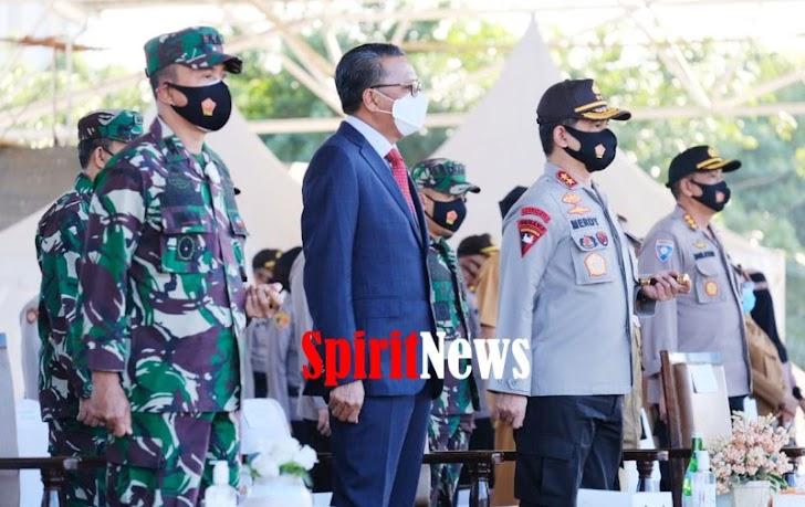 Gubernur Nurdin, Kerja Keras Bersama Akhirnya Pandemi Covid-19 di Sulsel Melandai