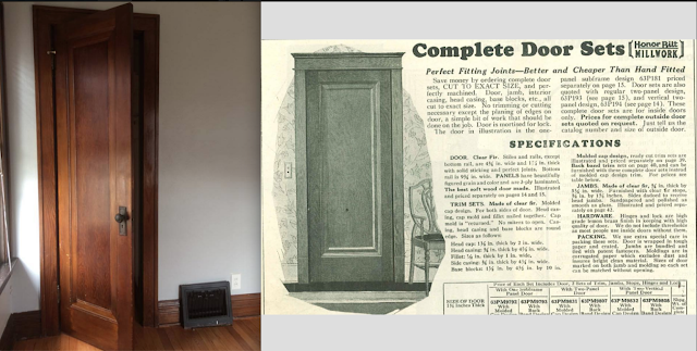 Sears house interior door option from catalog
