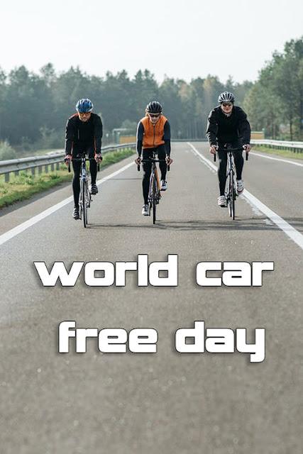 world car free day photos cycling image