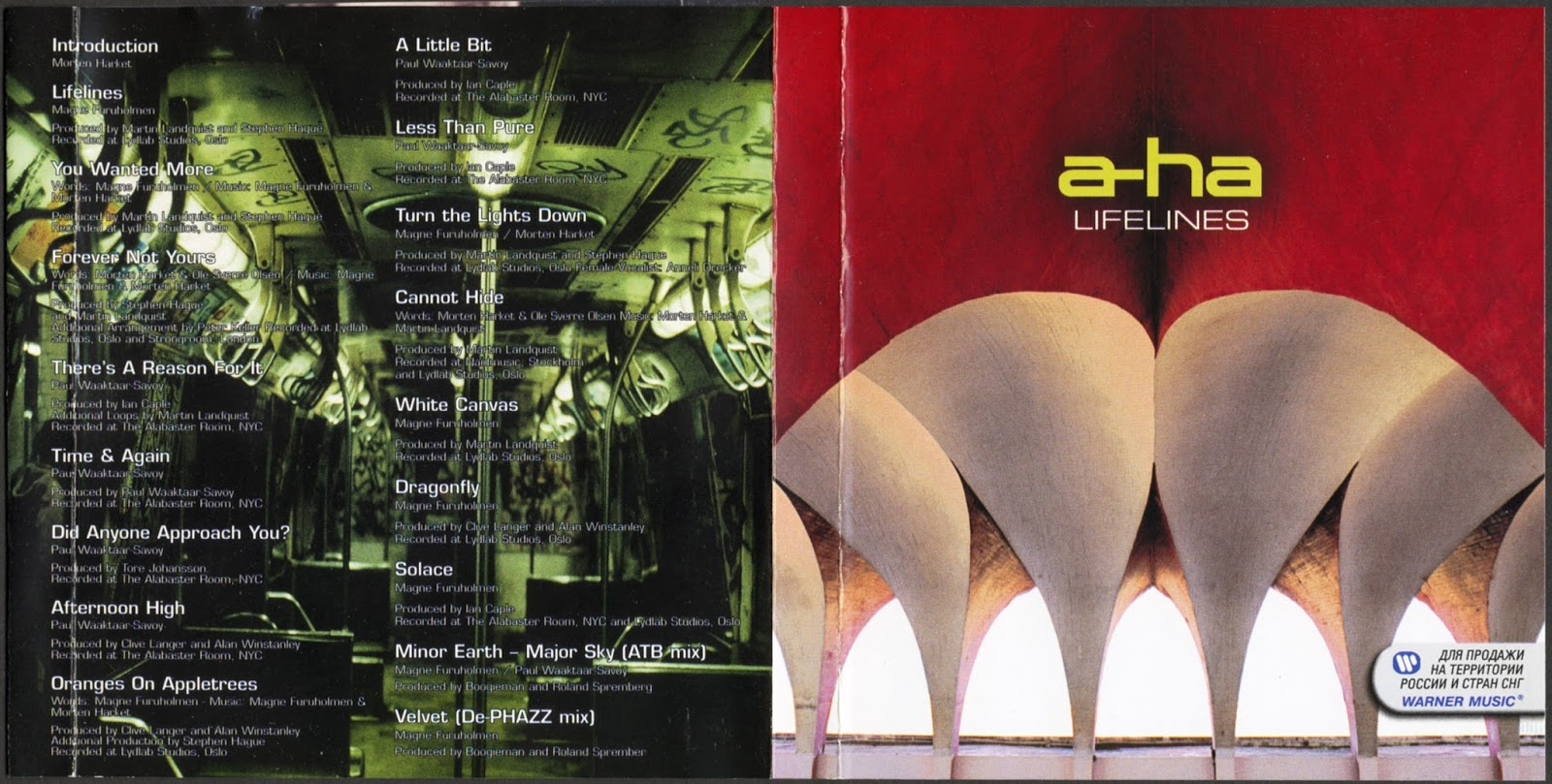 A-ha > Lifelines [for Russia]