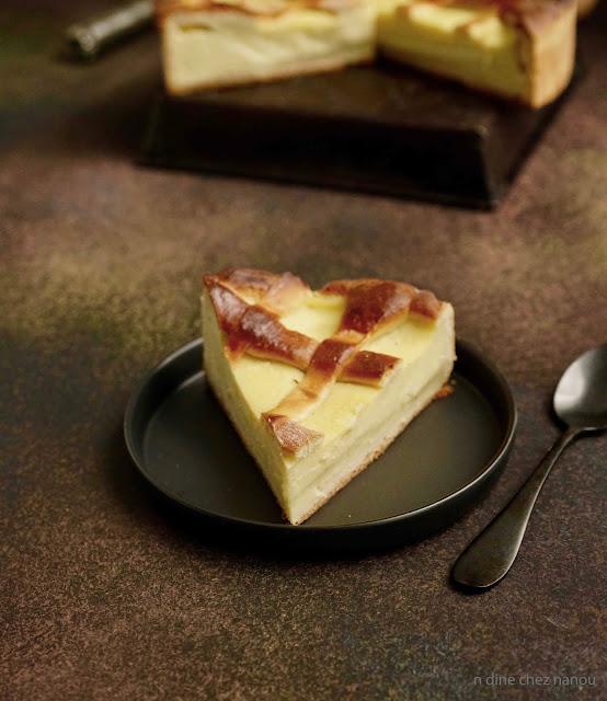 une spécialité du Nord , boulonnais , tarte au papin , flan traditionnel ,épeautre