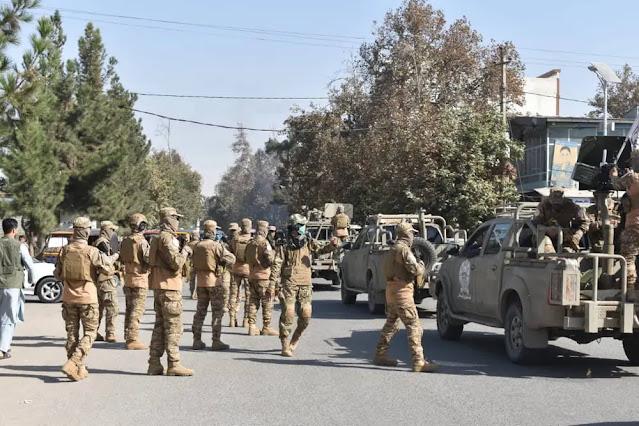 """Specialist"" Taliban in Takhar (Source: Twitter)."