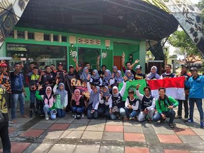 Aksi Bersih Sampah Bersama Mahasiswa Fmipa Biologi Unirow Tuban.