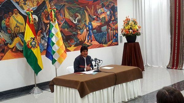 Evo Morales no descarta ir a segunda vuelta si el resultado final electoral lo establece