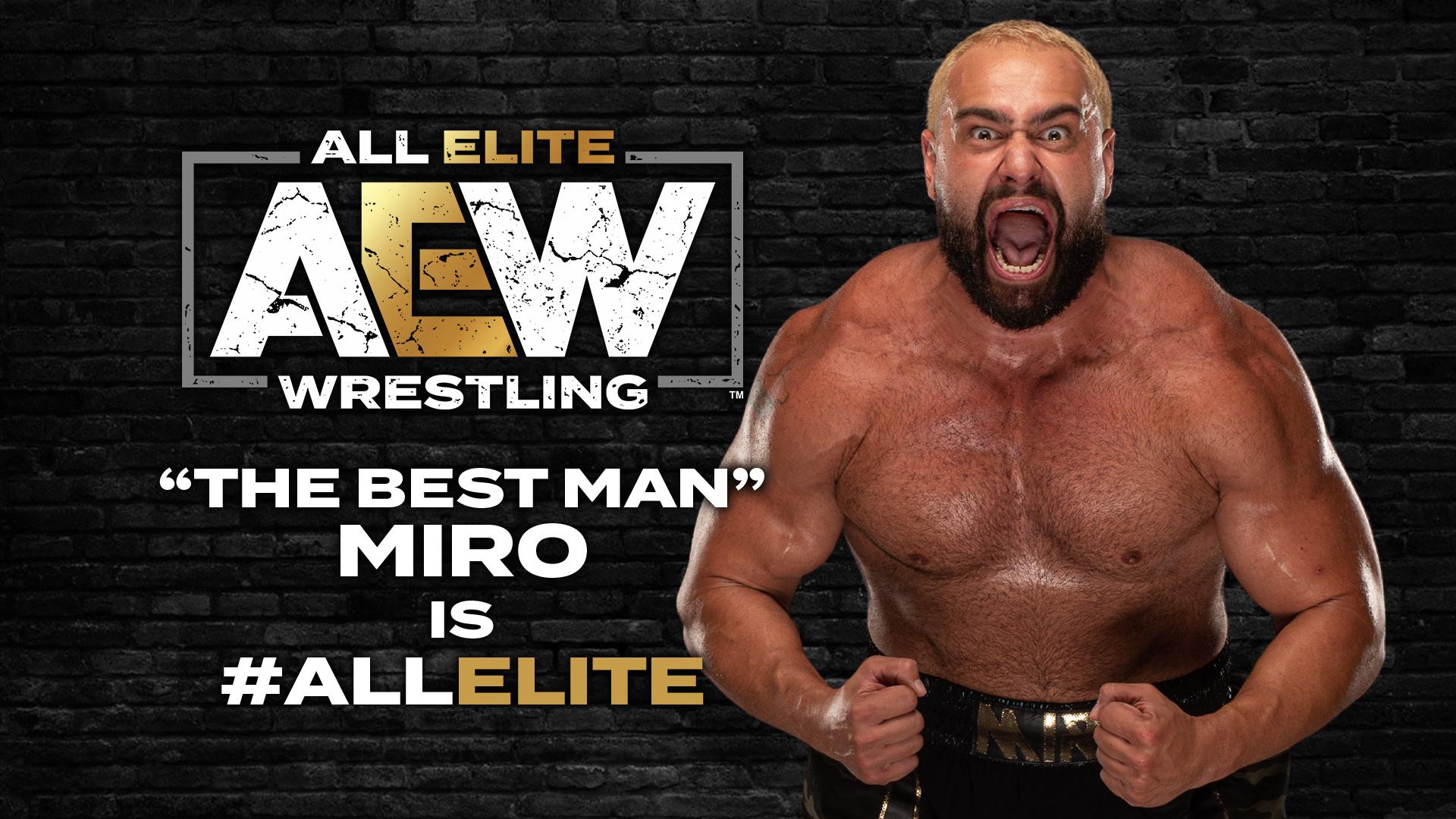Central WWE: Miro/Rusev está na AEW e Tay Conti faz sua estreia!