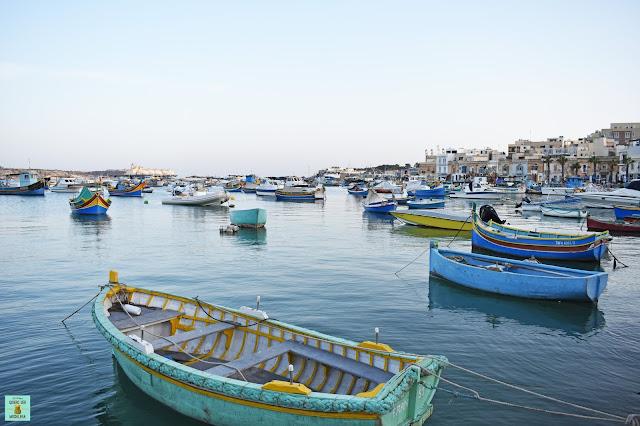 Marsaxlokk en Malta