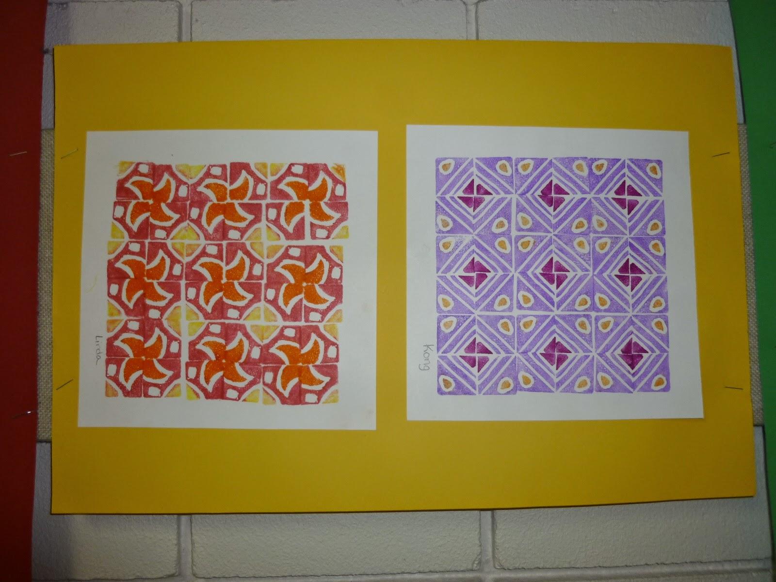 Mrs Werner S Art Room 5th Grade Printmaking