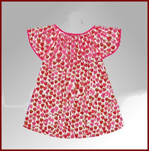 Vani's blog 1 : Frock from A line frock.