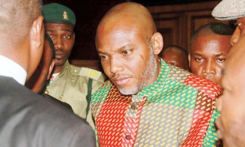 Detained Biafra Leader, Nnamdi Kanu Writes UK Government Over His Prolonged Detention