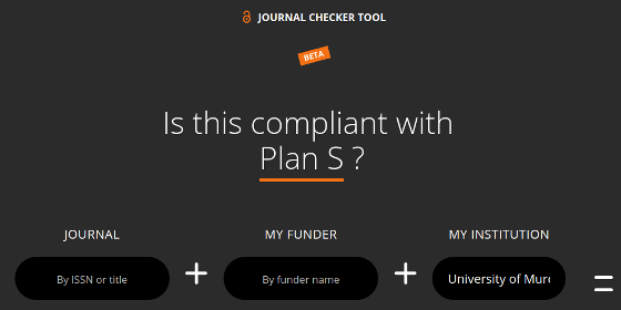 Journal Checker Tool