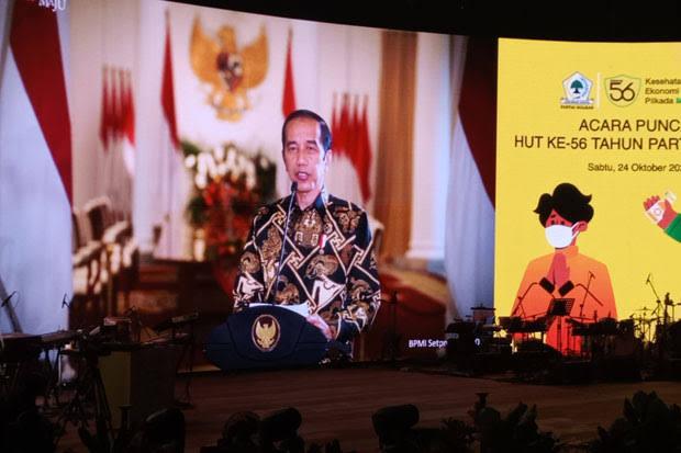 Jokowi: 2021 Akan Jadi Tahun Opportunity, Saya Sangat Optimis!