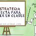 La estrategia 🎯 perfecta para exponer en clases. #Infografía