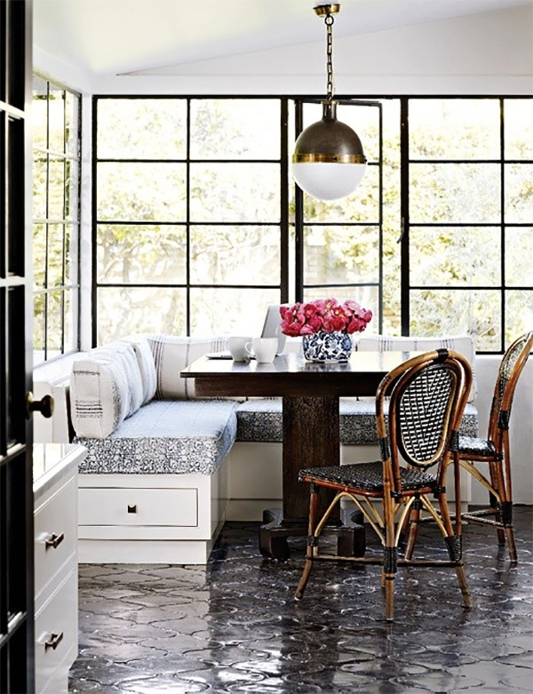 Maximizing Space With Stylish Banquette Seating Interiors By Jacquin