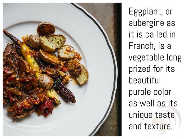 Eggplant Vegan Aubergine Stew