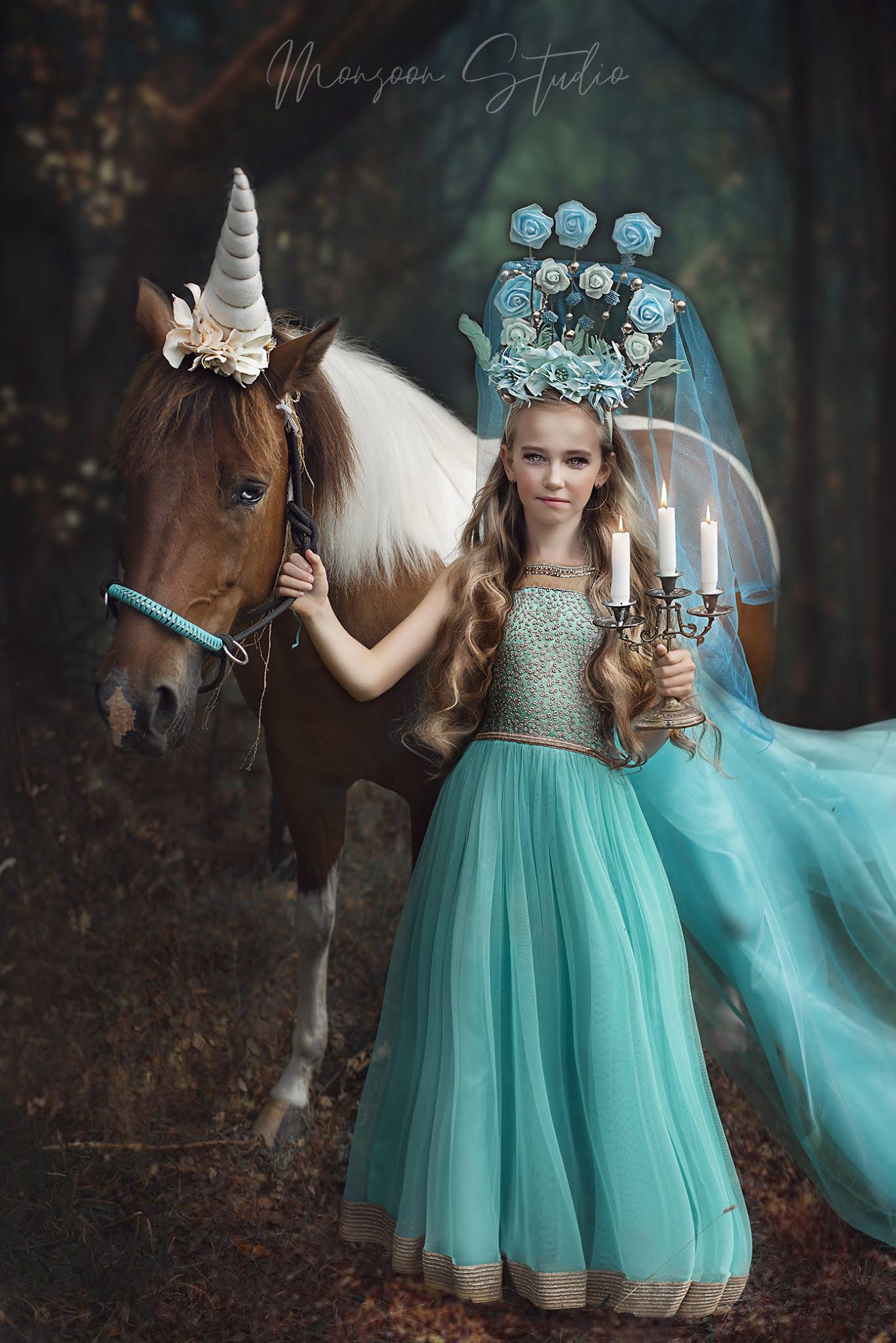 artystyczny portret, sesje z koniem, fotografia artystyczna