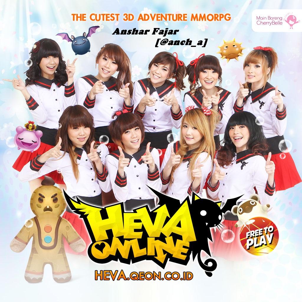Cherry Belle Ambassador Resmi Heva Online Indonesia Twiboy Indonesia