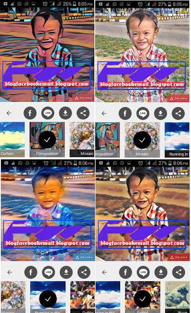 Download aplikasi edit foto Prisma terbaru gratis + hasil efek nya