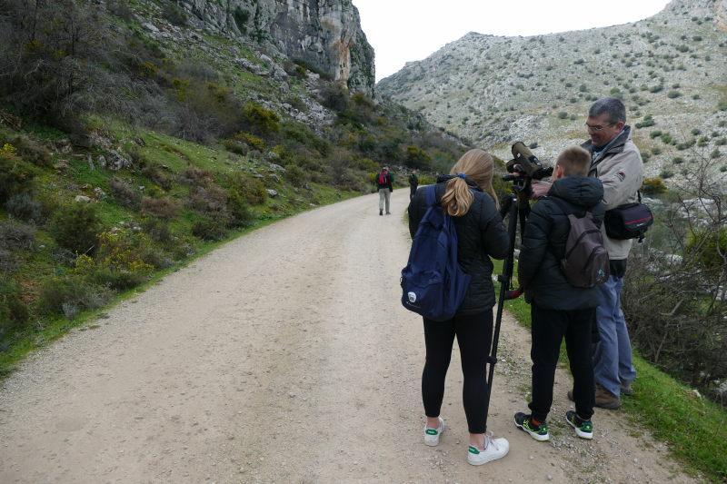 Buscando águilas perdiceras. Serranía Ronda. AEA Bosque Animado