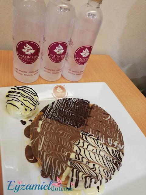 Sedapnya Dessert berasaskan Coklat di Salon Du Chocolate