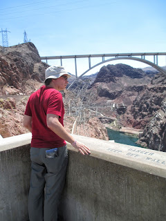 on Hoover Dam