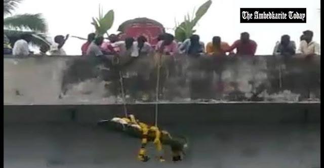 Dalits 'Airdrop' Dead Body Atop 20-Foot-High Bridge After Being Denied Access to Crematorium in Tirupattur