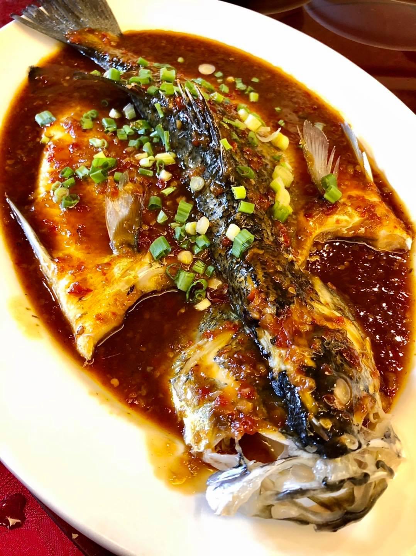 Masakan Cina Sedap di Restoran Cina Hop Sing 金 閣楼