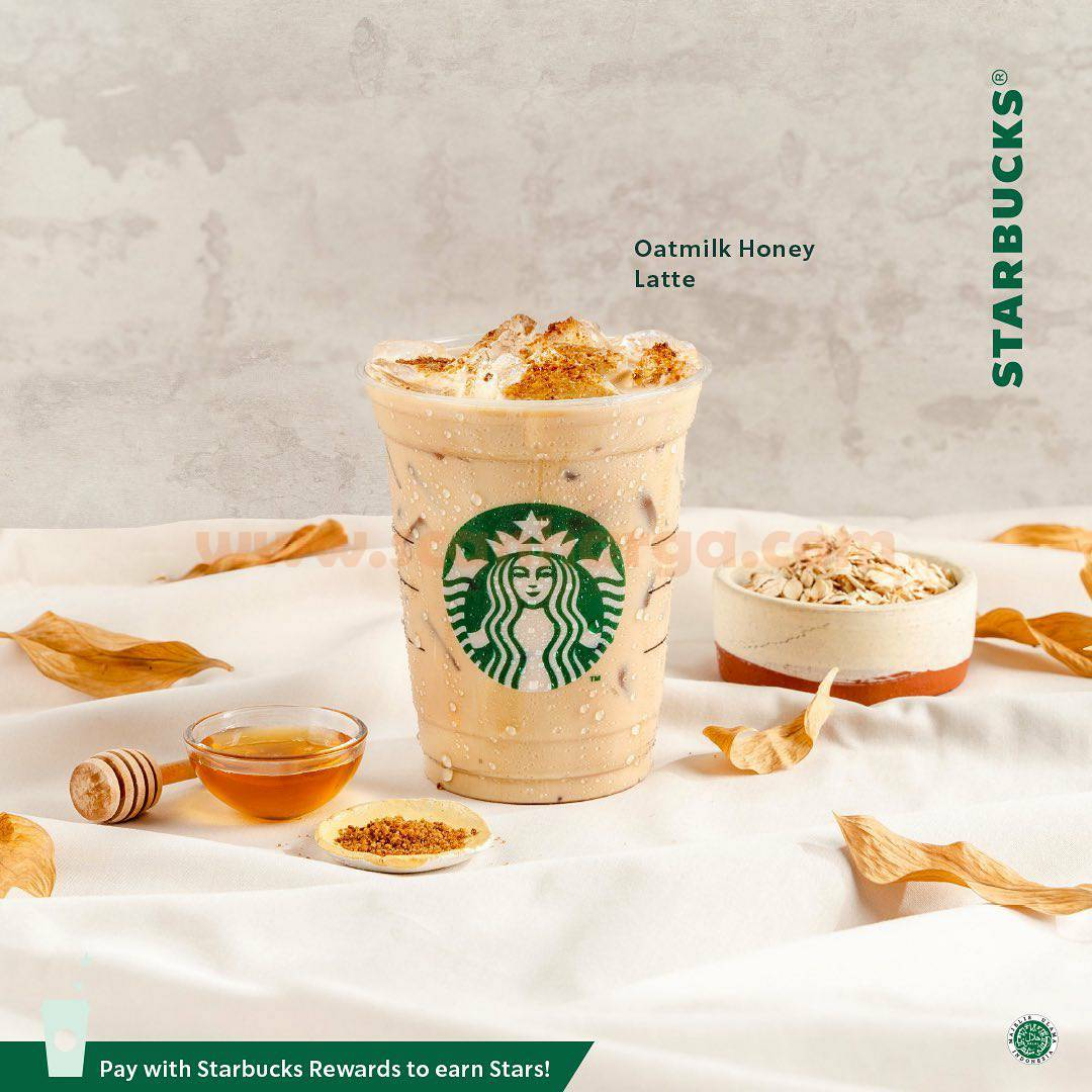 Promo Starbucks Positively Plant-Based *Buy 1 Get 1 Free 3