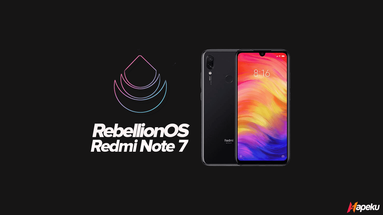 ROM Rebellion OS StarWars Xiaomi Redmi Note 7 ( LAVENDER )