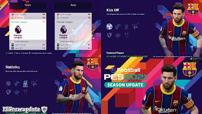 PES 2021 Menu Mod Lionel Messi