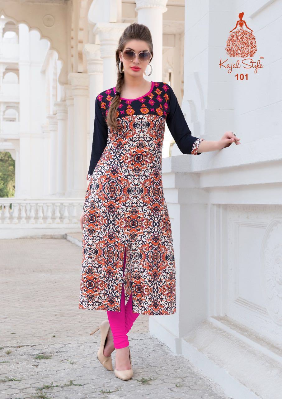 Bournville Vol 1 – Latest New Stylish And Fancy Kurti Wholesale