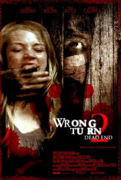 Poster Of Wrong Turn 2 Dead End 2007 Unrated 720p English BRRip Full Movie