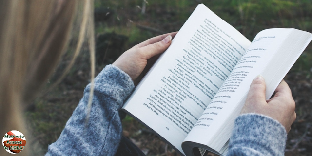 "Header image of the article: ""25 Quotes About Reading That Will Get You Opening Books"". Girl Opening A Book, Motivated"
