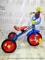 PMB 919 Safari BMX Baby Tricycle-Blue