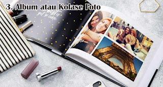 Album atau Kolase Foto merupakan salah satu rekomendasi kado natal spesial untuk sahabat tercinta