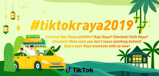 TikTok Malaysia Celebrates the Month of Syawal with #TikTokRaya2019