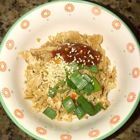 Pressure Cooker Chicken Fried Rice