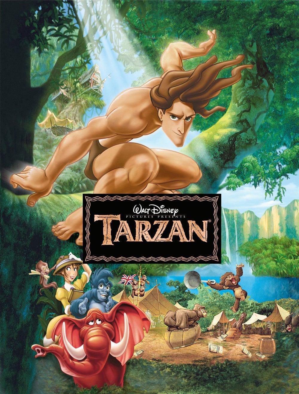 Mr Movie Disney S Tarzan 1999 Movie Review