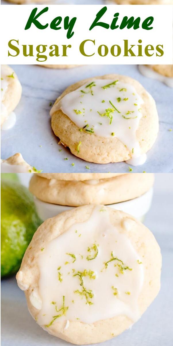 Key Lime Sugar Cookies